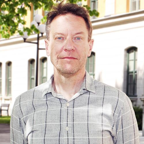 Porträttbild på Fredrik Åberg