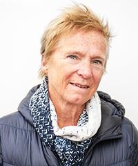 Porträttbild på Birgitta Roos