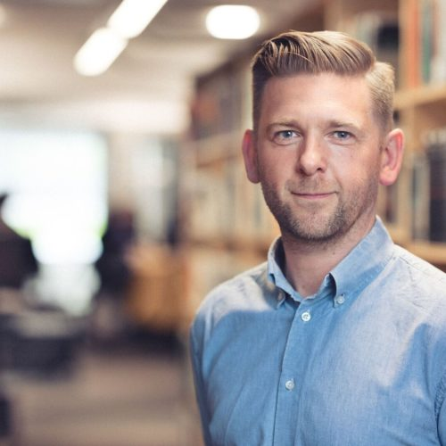 Porträttbild Erik Bertsson