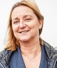 Porträttbild på Lotta Milleskog